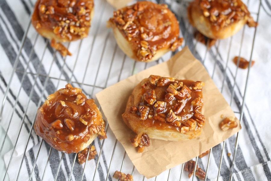 grandma's sticky buns recipe