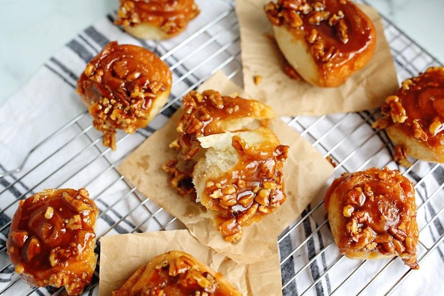 caramel roll recipe
