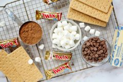 Easy Layered S'mores Brownies