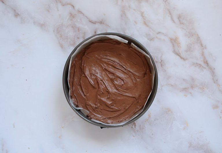 No Bake Layered Mint Cheesecake