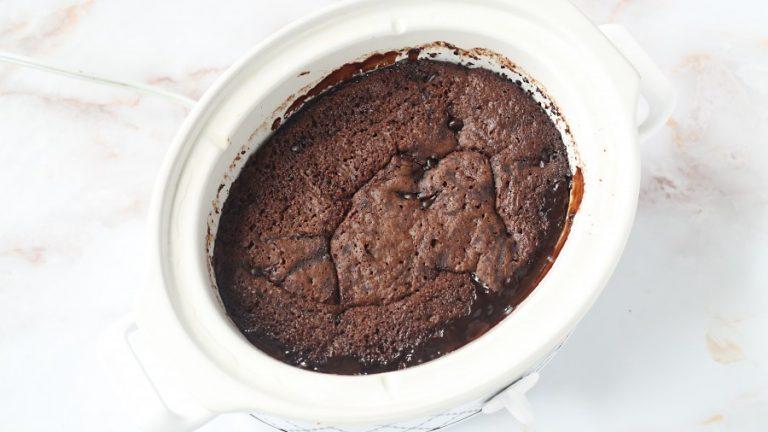 Slow Cooker Fudge Pudding Cake