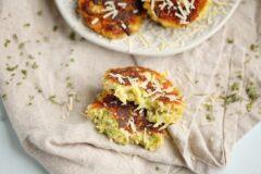 Cheesy Zucchini Cakes