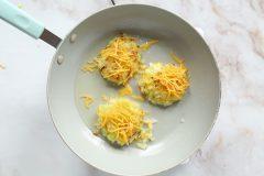 Cheesy Zucchini Potato Cakes