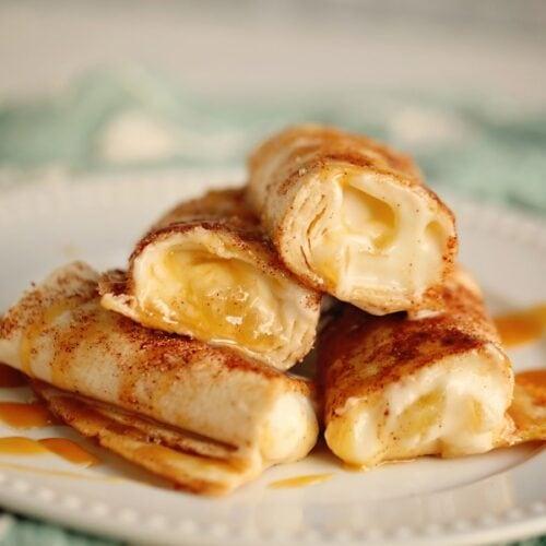 Easy Cheesecake Dessert Wraps