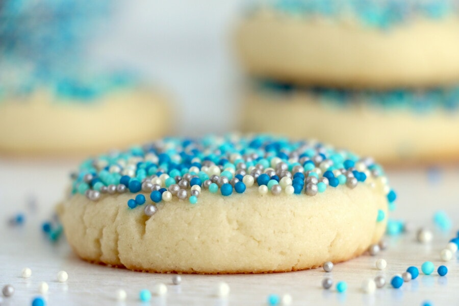 melt in your mouth cream cheese sugar cookies