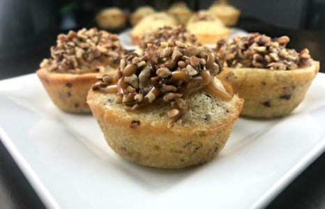 Caramel Maple Pecan Muffins