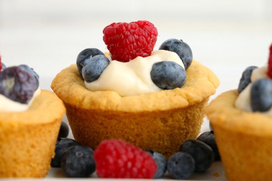 sugar cookie cheesecake cups