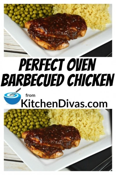 I totally love barbecued chicken. I can't help myself. This recipe for Oven Barbecued Chicken is fabulous. It creates delicious whole chicken breasts or even strips (this will change your cooking time). The result is great because the method is great. You can leave out the minced garlic and onion and use powdered for a smoother sauce if you like.
