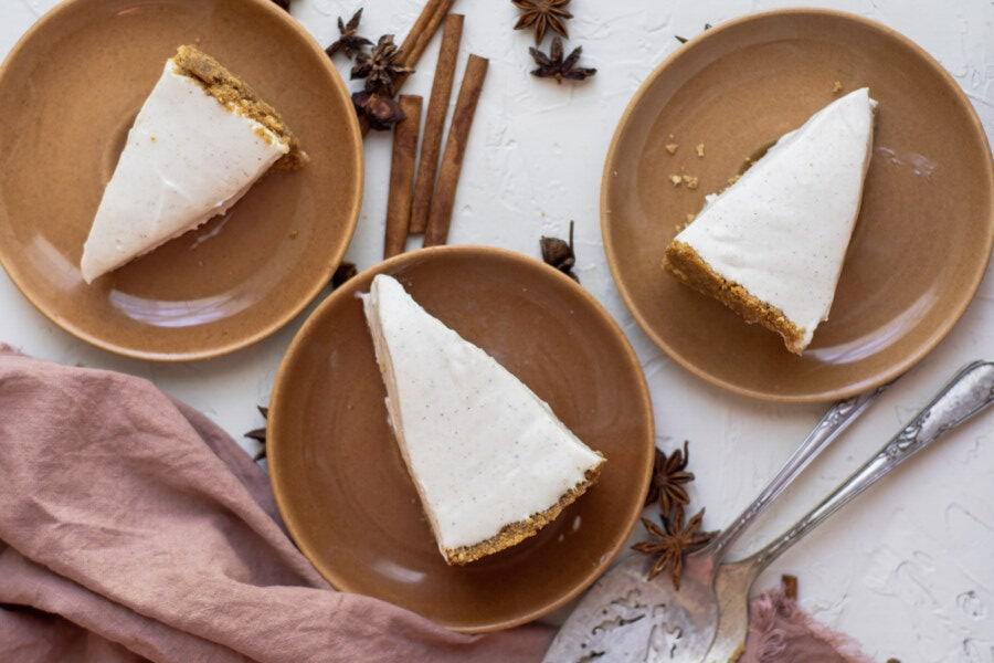 eggnog no bake cheesecake