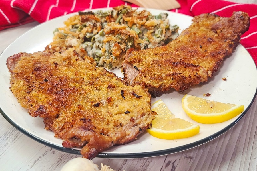 Stuffed Veal Cutlets with Prosciutto and Provolone