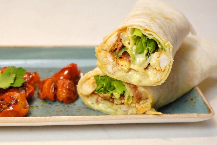 Subway Chicken Caesar Wrap Copycat