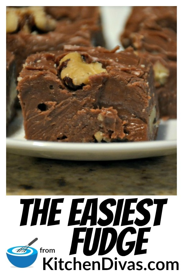 The Easiest Fudge