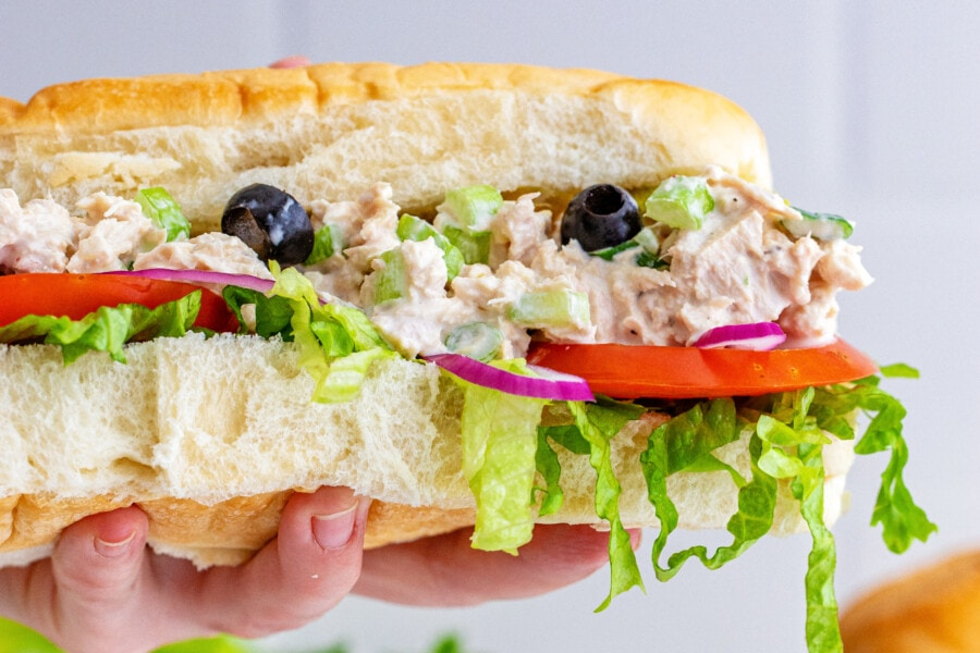 Best Subway Tuna Salad Sandwich Kitchen Divas