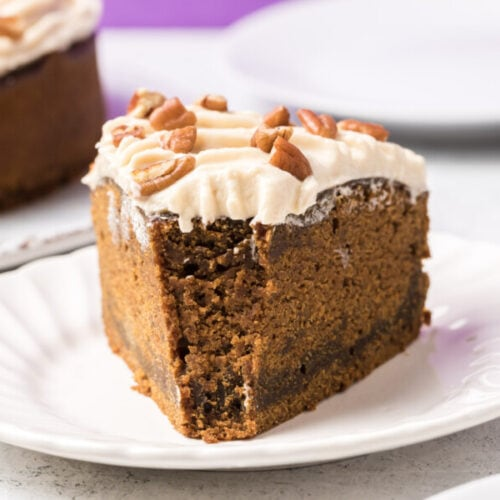 IP Gingerbread Cake with Maple Bourbon